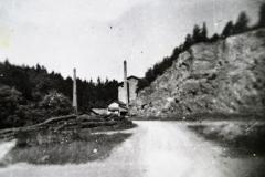 Kamenolom - příjezd od Svojšic