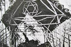 památný dub v choltické oboře rok cca 1900